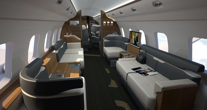 Infografia 3D Avion