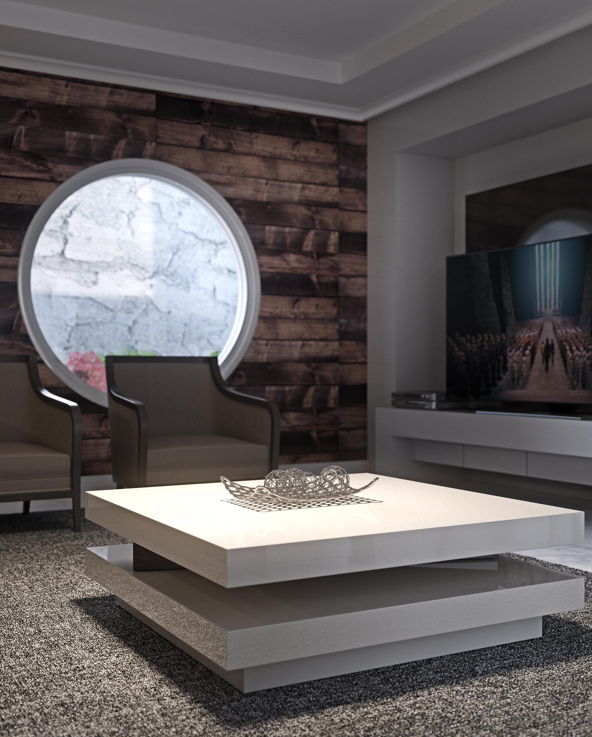 Infografia 3D Interior